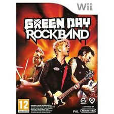 WII GREEN DAY ROCK BAND  Jeux d'action musicaux Neuf