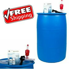 Emergency Drinking Water Storage Long Term Container BPA Free Purifier Tank Pump