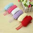 10 Yard Pizzo Merletto Lace Trim Craft Handicraft Matrimonio DIY Multi-colori