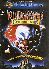 Killer Klowns From Outer Space DVD Set Horror Film TV Scary Comedy Aliens Clowns