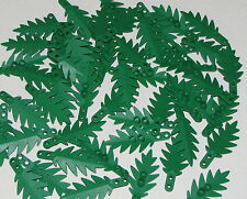 LEGO LOT OF 50 NEW GREEN 8 X 3 PALM LEAVES LEAF PLANTS TREE PIECES