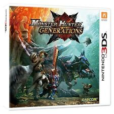 Monster hunter générations 3DS game brand new