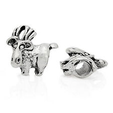 Moose Animal Bead Compatible for Most European Snake Chain Bracelet