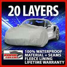 20 Layer Car Cover Fleece Lining Waterproof Soft Breathable Indoor Outdoor 17313