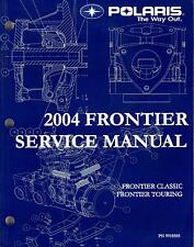2004 POLARIS SNOWMOBILE FRONTIER SERVICE MANUAL P/N 9918585 (664)