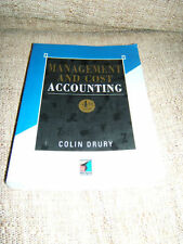 MANAGEMENT COST ACCOUNTING BY COLIN DRURY 1996 ACCOUNTANCY STUDENT TEXT BOOK