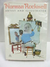 Norman Rockwell Artist and Illustrator by Buechner 1970 First Edition, Hardcover
