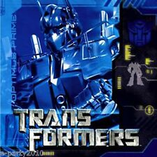 TRANSFORMERS LUNCH NAPKINS (16) ~ Birthday Party Supplies Dinner Large Optimus