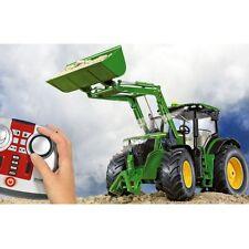 Siku John Deere 7r 6777 control teledirigido tractor con cargador frontal 1:32 nuevo
