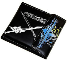 Anime Sword Art Online SAO Cosplay Asuna Kirito PU Leather GIFT Wallet Purse