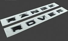 Matt Black Lettering for Range Rover Classic bonnet tailgate font decal badges