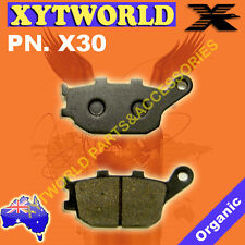 REAR Brake Pads for Honda NC 700 Integra Scooter 2012-2013