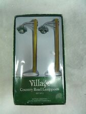 Dept 56 Village Country Road Lampposts #52628 (a2073)