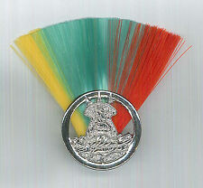 SCOUTS OF LESOTHO - CHIEF SCOUT COMMISSIONER (YGR COLOR) Metal Plume / Hat Patch