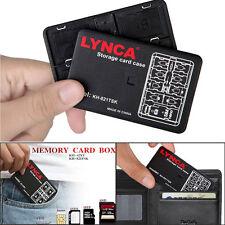 14 Slots Micro SD TF SDHC MSPD Memory Card Protecter Box Storage Case Holder