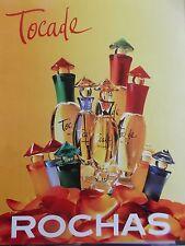 publicité de presse PARFUM ROCHAS TOCADE   en 1996   ref. 20495
