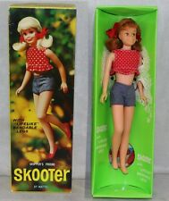 Barbie #1120 1966 MIB Skooter Scooter Bendable Leg Titian Skipper Pal Nice Compl