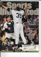 Joe Girardi Yankees baseball sports Illustrated Nov. 4, 1996