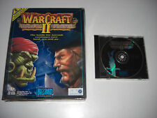WARCRAFT 2 Tides Of Darkness Pc Cd Rom War Craft II Original BIG BOX