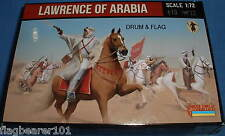 Strelets Set 115. Lawrence de Arabia. 1/72 Scale. 12 Figuras Sin Pintar.