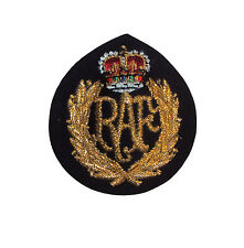 ROYAL AIR FORCE OTHER RANKS CAP BADGE - BRAND NEW - RAF - EMBROIDERED