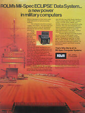 1/1980 PUB ROLM MIL SPECS COMPUTERS ECLIPSE DATA SYSTEM US NAVY USS CARRIER AD