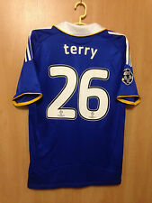 CHELSEA LONDON 2008/2009 FINAL MOSCOW HOME FOOTBALL SHIRT JERSEY JOHN TERRY #26
