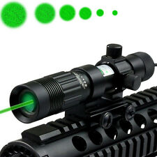 Stock New Flashlight Green Laser Sight Weaver Mount for Pistol Handgun Hunting