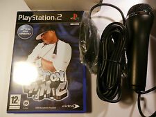 GET ON DA MIC GAME for PLAYSTATION 2 ( INC. MICROPHONE.)