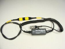 David Clark Aviation Headset Push To Talk Box PTT MBIRT 6-Pin to Nexus AJ-107BR