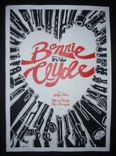 BONNIE AND CLYDE Hand-Signed CUBAN Screen-printed Movie Tribute Poster CUBA ART