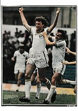 KEVIN HIRD/PAUL HART LEEDS UNITED ORIGINAL HAND SIGNED MAGAZINE PICTURE CUTTING