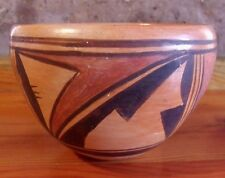1980'S HOPI SMALL BOWL FROM POLACCA/FIRST MESA REGION, AZ! SIGNED, VERY NICE!!