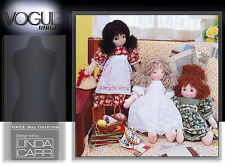 "VOGUE 7418 1930s 18"" RAG DOLL & CLOTHES Pattern"
