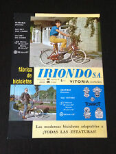 IRIONDO VITORIA BICICLETA CYCLE VELO - CICLISMO CYCLISME - CATALOGUE CATALOGO