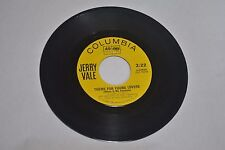Jerry Vale (4-42826) Old Cape Cod / Theme for Young Lovers 1963
