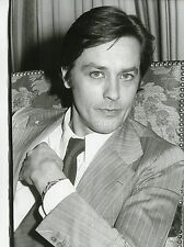 ALAIN DELON PORTRAIT 1975  VINTAGE PHOTO ORIGINAL #3