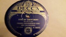 FRANK CHACKSFIELD SONG OF CANTERBURY & THE PIED PIPER DECCA F10255