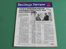 1989 Redlegs Review Norwood Football Club Premiers Winter McIntosh Laughlin Tayl