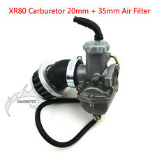 35mm Air Filter 20mm Carburetor For 50 70 90 110 cc Engine Carb Dirt Bike ATV