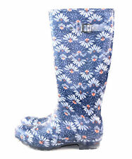 Kamik Women's Daisies Rain Boot Waterproof Navy Blue Size 11 US