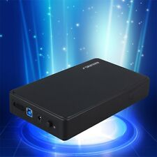 Tool-Free USB3.0 External 3.5'' SATA Hard Drive Enclosure SSD HDD Case FE