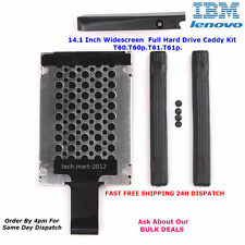 "Hard Drive.HDD.Cover.Caddy.T60.T60p.T61.T61p.14.1"".Lenovo.IBM.Thinkpad.FULL KIT"