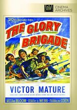 THE GLORY BRIGADE (1953 Victor Mature) - Region Free DVD - Sealed
