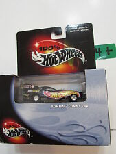100% HOT WHEELS  - PONTIAC FUNNY CAR  BLACK  SCALE 1:64