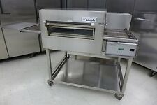 Lincoln 1132 Electric Conveyor Pizza Sandwich Oven Middleby Convection On Stand