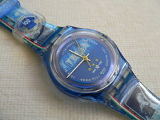 1998 swatch watch Magic Blue 100 year Notional Football team Italy never worn