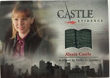 CASTLE Seasons 1 & 2 Cryptozoic : Molly C. Quinn ALEXIS CASTLE M11 Wardrobe