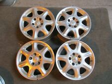"1999 2000 01 02 03 04 05 Mercedes S500 S430 OEM Factory 16"" Wheels Rims 65204"
