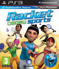 Racket Sports ~ PS3 Move Game (in Great Condition)
